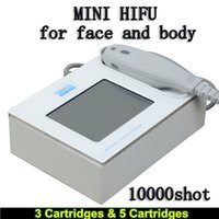 Wholesale best facial machines for sale - Group buy Medical Grade HIFU High Intensity Focused Ultrasound HIFU facial best lifting machine Wrinkle Removal With Cartridges For Face