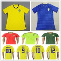 311a6056067 Wholesale blank yellow soccer jersey for sale - 2018 Sweden Soccer Jersey  JOHANSSON JOHNSSON GUIDETTI FORSBERG