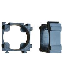 кронштейн аккумуляторной батареи оптовых-18.2 мм 18650 литиевая батарея стенд держатель рамка кронштейн 1 ячейка DIY ABS огнестойкий комбинация кронштейн