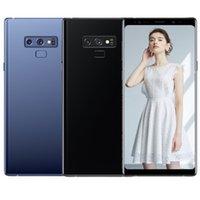 cep telefonu android notları toptan satış-ERQIYU Goophone note9 akıllı telefonlar Unlocked GPS Android 9.0 çift sim gösterilen 128G ROM 4G LTE not MP3 cep telefonları