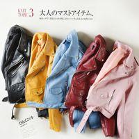 plus size pu motorcycle jacket Australia - 2018 Spring PU Leather Jacket Women Plus Size 3XL Black Punk Coat Autumn Biker Short Jacket Motorcycle Outerwear B491