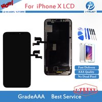 Wholesale Iphone Oem Assembly - 100% Brand New Black For OEM display For iPhone x LCD Display With Touch Screen Digitizer Replacement Assembly DHL shipping