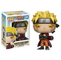 Funko Pop Animation:Naruto - Naruto Six Path   Sage Mode Vinyl Action Figure With Box #185 #186 Gift Doll Toy