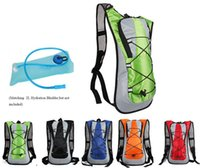 Wholesale Hydration Backpack Wholesale - Outdoor sports Water Bag Water back Pack 5L Bladder Hump Backpack TPU Pouch Hydration System Hiking Climbing Cycling Bike Bicycle Backpack