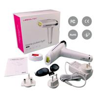 ipl hautverjüngung hausgerät großhandel-Lescolton 2 in 1 zu Hause gepulstes Licht Epilierer IPL Hautverjüngung / dauerhafte Haarentfernung Gerät, entfernen Körperhaar / Lippenbikini