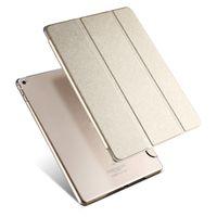яблоки прокладки ipad оптовых-Новый кожаный чехол для Apple Air 2 Tablet PC Case смарт аксессуары роскошный чехол для Apple Pad 2 3 4 mini 4 Case для pro 9.7