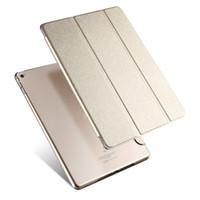 stand rembourré en ipad achat en gros de-Nouvelle couverture en cuir pour Apple Air 2 cas Tablet PC Accessoires intelligents cas de luxe pour Apple Pad 2 3 4 mini 4 cas pour pro 9.7