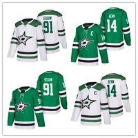 Wholesale dallas hockey jerseys - 2018 New Season Dallas Stars Jersey 14 Jamie Benn 91 Tyler Seguin 9 Modano Stitched Hockey Jerseys free shipping