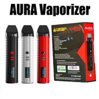 бесплатная сигарета с электронным испарителем оптовых-Authentic DHL-FREE Flowermate AURA V10 3-in-1 Vaporizer Electronic Cigaree Dry Wax Liquid Vape Kit  Pen E Cigaree