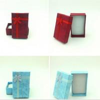 ingrosso contenitori di regalo dei monili viola-Lady Classic Jewelry Gift Boxes Blue Purple Ring Ear Box per unghie Donna Fashion Cofanetto High Grade 0 75xn4 Ww