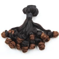 Wholesale rose ombre hair for sale - Group buy Funmi Hair A Ombre T1B Bunchy Rose Curl Bundles inch Brazilian Peruvian Malaysian Indian Hair Top Grade Quality