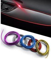 hyundai için araba kaplamaları toptan satış-Oto Araba-Styling Şeritleri Dekoratif Konu Trim Marka Sticker Durumda Ford Için Audi Için Audi AMG Mazda Honda Kia VW Honda Hyundai Araba-Styling