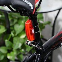 ingrosso usb della coda della bici-Ciclomotore resistente all'acqua 6-modi USB Ricaricabile LED Ciclismo Coda posteriore Ultralight per Night Cycling + B