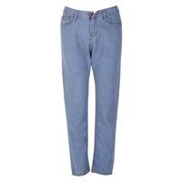 xxl jeans para mujeres al por mayor-Señora cintura alta lavada azul claro True Denim pantalones Boyfriend Jean Femme Jeans mujer pantalones XXL