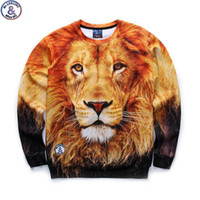 Discount lion king hoodies sweatshirt Mr.1991 brand 12-18 years big kids thin sweatshirt boys youth fashion lion king 3D printed hoodies girls jogger teenage W25