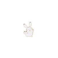 Wholesale novelty wedding anniversary - Cute Rabbit Catoon Enamel Pin Badge Novelty Brooch Lapel pin Brooches Badge Jewelry Funny Pins Accessories for Bag Clothing