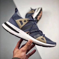 Wholesale top naked - Adidas Arkyn Boost,Naked x Adidas Originals Top fashion outdoor leisure jogging shoes For men women Black White Discount Sneakers