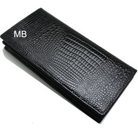 Wholesale office gift card for sale - Luxury MB wallet Hot Leather Men monte Wallet Short wallets MT purse card holder wallet High end gift box package