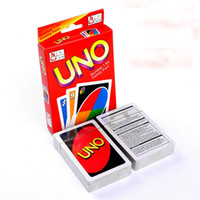 Wholesale Board Settings - 120 Set Entertainment Card Games UNO cards Fun Poker Playing Cards Family Funny Board Games Standard OTH065