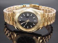 designers watches al por mayor-Diamante relojes de diseño con fecha nueva marca de moda de lujo producto para hombres y mujeres fecha nuevo reloj de acero relojes de cuarzo