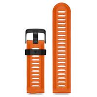 kits de pulso venda por atacado-Garmin Fenix 3 HR Silicone Soft Strap Substituição Wrist Watch Band + Kits de ferramentas Laranja