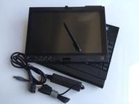 mb star mitsubishi venda por atacado-100% de alta qualidade profissional computador portátil de diagnóstico para lenovo thinkpad x200t 4g escolha hdd frete grátis para mb estrela para bmw icom