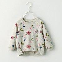 ingrosso maglia manica piena t-shirt inverno-T-shirt per bambini autunno inverno felpa per bambini moda casual per bambini pullover camicetta magliette a maniche lunghe per bambini