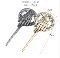 Wholesale Sg Water - SG Fashion Newest Jewelry Game of Thrones Series Brooches The Hand Of The King Brooch Accessories For Men And Woman broche Gift