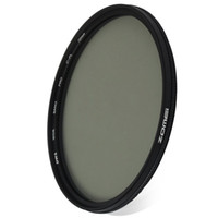 dairesel çap toptan satış-Zomei 72mm Çap Ultra Ince Dairesel Polarize Cam Filtre Lens CPL Filtre Doygunluğu Artırmak Parlama Yansımaları Azaltmak