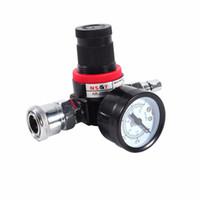 Wholesale air compressor valve for sale - Group buy Car Styling Auto Car Air Pressure Regulator Gauge Valve Compressor For Spray Gun
