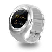 Wholesale reloj android camera for sale – best Bluetooth Y1 Smart Watch Reloj Relogio Android Smart Bracelet Phone Call SIM TF Camera Sync For Sony HTC Huawei Xiaomi HTC Android Phone etc