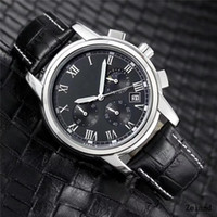 Wholesale wholesale watches japan - 2018 Fashion stainless Steel Quartz Man Leather watch Japan Movement watches Waterproof 40mm male Wristwatches Noctilucent function dhl free