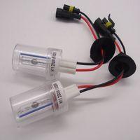 ampulleri sakla h11 toptan satış-Yüksek Güç 200 W HID Xenon Ampul Araba Far Işık Lambası H1 H4 H7 H11 9005 9006 6000 K Beyaz