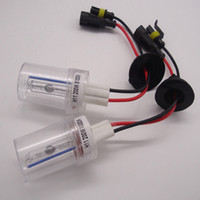 xenon far h11 hidrolik ampul toptan satış-Yüksek Güç 200 W HID Xenon Ampul Araba Far Işık Lambası H1 H4 H7 H11 9005 9006 6000 K Beyaz