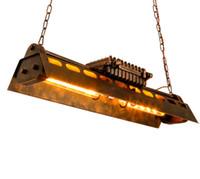 endüstriyel diy ışık toptan satış-Regron Dekorasyon Avize Işıkları Led Demir Diy E27chandelier Aydınlatma Loft Tarzı Kullanım Için Avrupa Tarzı Antika Endüstriyel Asılı Armatür
