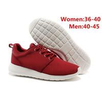 Wholesale cheap women platform shoes - 2018 Cheap Wholesale The New platform sneakers best outdoor light hiking shoes Casual Breathable men women black blue Shoes 36-44
