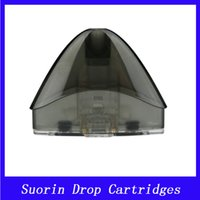 Wholesale starter parts wholesalers - Suorin Drop Cartridge Pods 2ml Unique Coil Head Perfect For Suorin Drop Starter Kit Electronic Cigarette Spare Parts Accessories DHL Free