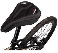 bisiklet eyer yastığı toptan satış-MTB Bisiklet Bisiklet Silikon Sele Ped Bisiklet Yumuşak Koltuk Kılıfı Yol Kalınlaşmış Silika Jel Yastık Koltuk Kılıfı Pad Için bisiklet