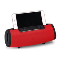 mini bluetooth lautsprecher für apfel großhandel-2018 neue E16 Wireless Bluetooth Xtreme Lautsprecher als Telefon stand Outdoor Tragbare Subwoofer Mini Bluetooth Lautsprecher schnelles verschiffen durch dhl