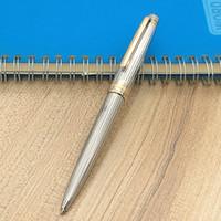 rodillo de metal al por mayor-Bolígrafo ag925 MB de grado superior Meisterstucks Líneas plateadas bolígrafo de metal / bolígrafo Roller suministros estacionarios A ++