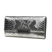 kadın cüzdanları toptan satış-Vintage Timsah Kadınlar Inek Hakiki Deri Günü Manşonlar Lady Debriyaj Cüzdan El Çantası Telefon Tutucu Zarf Akşam Çanta Bileklik
