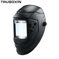 ver gafas al por mayor-Big View Eara 4 Sensor de arco DIN5-DIN13 Solar Oscurecimiento automático TIG MIG MMA Máscara de soldadura / Casco / Soldador / Lente / Mascarilla / Gafas