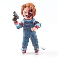 Wholesale models toys hobbies - Toys Hobbies Action Toy Figures Child's Play Chucky Good Guys Accessories PVC Action Figure Collectible Model Toy 10.5cm KT4775