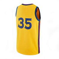 Wholesale kd prices - Brand New Top Quality Wholesale Price 17-18 Season Jerseys GS KD City Edition Jersey Stitched Basketball Jersey Embroidery Size S-XL