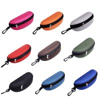 Wholesale Read Bag - 500pcs lot New Sunglasses Reading Glasses Carry Bag Hard Zipper Box Travel Pack Pouch Case Portable Protector