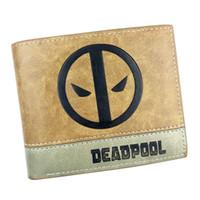 Wholesale Money Cool - 3D Anime Deadpool Cool Short Purse Hot Newest Design PU Leather Wallet Cool Pocket Money Bag