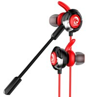 Wholesale games gamers resale online - Gaming in Ear Earphone with Dual Mic Stereo Sound identify Position Game Headsets with Pair Earbuds Gamer Headphone for PC Phone Game
