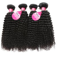 Wholesale Indian Jerry Curl Hair Extension - Brazilian Peruvian Malaysian Hair Natural Curly Human Jerry Curl Hair Weaves 4 Bundles Unprocessed Vrigin Hair Extensions For Black Women