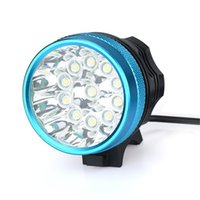 ingrosso x bicicletta-28000LM 11 x T6 LED 6 x 18650 Luce bici ricaricabile luce bicicletta impermeabile bici anteriore luz bicicleta led 30AT27