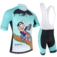 Wholesale cycling men summer clothing resale online - 2018 BXIO Brand The Latest Style Cycling Jerseys Summer Shorts Sleeve Bike Clothing Cool Men Green Bicycle Jersey Ropa Ciclismo BX